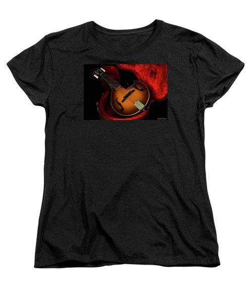 Mandolin Guitar 66661 Women's T-Shirt (Standard Cut) by Kevin Chippindall