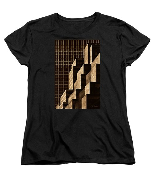 Manhattan No. 3 Women's T-Shirt (Standard Cut) by Joe Bonita