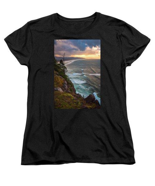 Women's T-Shirt (Standard Cut) featuring the photograph Manzanita Sun by Darren White