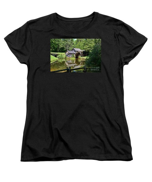 Women's T-Shirt (Standard Cut) featuring the photograph Marby Mill 2 by Paul Ward