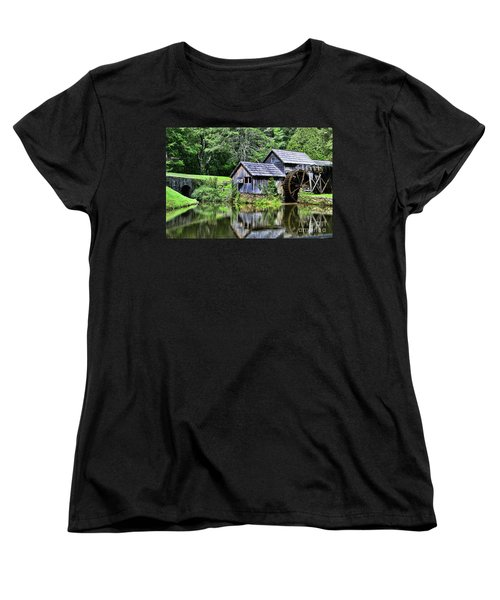 Women's T-Shirt (Standard Cut) featuring the photograph Marby Mill 3 by Paul Ward