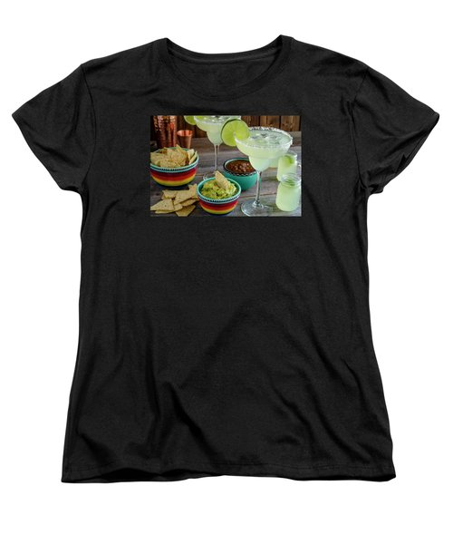 Women's T-Shirt (Standard Cut) featuring the photograph Margarita Party by Teri Virbickis