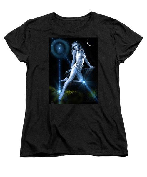 Marilyn Monroe - A Star Was Born Women's T-Shirt (Standard Cut) by Glenn Feron