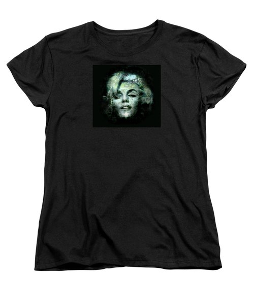 Marilyn Monroe Women's T-Shirt (Standard Cut) by Kim Gauge