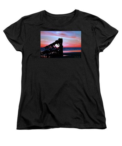 Mariners Sky 20 Women's T-Shirt (Standard Cut) by Steve Warnstaff