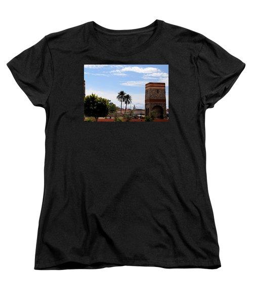 Women's T-Shirt (Standard Cut) featuring the photograph Marrakech 2 by Andrew Fare