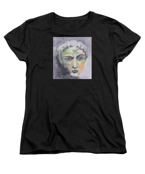 Mask II Women's T-Shirt (Standard Cut) by Teresa Beyer