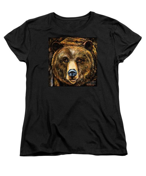 Women's T-Shirt (Standard Cut) featuring the painting Master by Igor Postash