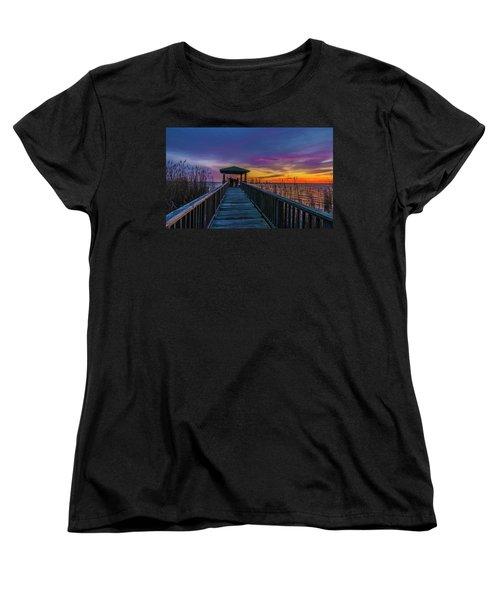Mattamuskeet Lake Women's T-Shirt (Standard Cut)