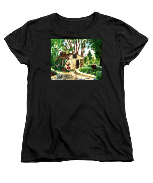Maui Winery Women's T-Shirt (Standard Cut) by Eric Samuelson