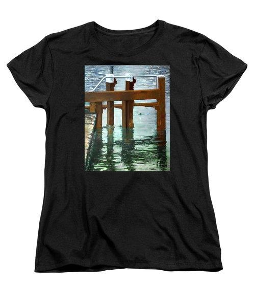 Maynooth Lock Women's T-Shirt (Standard Cut) by Marty Garland