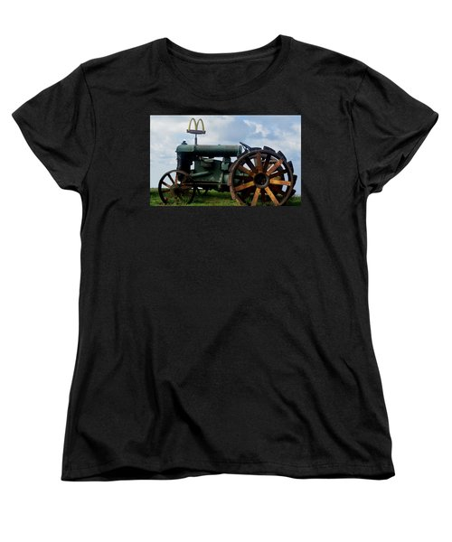 Mctractor Women's T-Shirt (Standard Cut) by Gary Smith