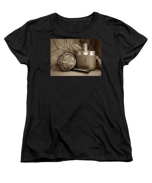 Memories Of The Past Women's T-Shirt (Standard Cut) by Patrice Zinck