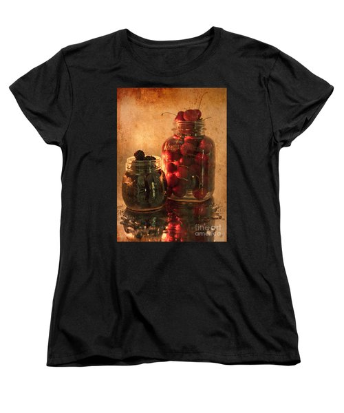 Memories Of Jams, Preserves And Jellies  Women's T-Shirt (Standard Cut) by Sherry Hallemeier