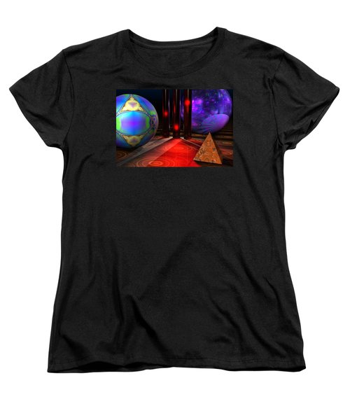 Merlin's Playground Women's T-Shirt (Standard Cut) by Lyle Hatch