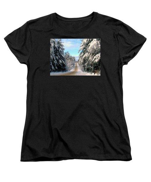 Merry Christmas,happy Holidays Women's T-Shirt (Standard Cut) by Elfriede Fulda