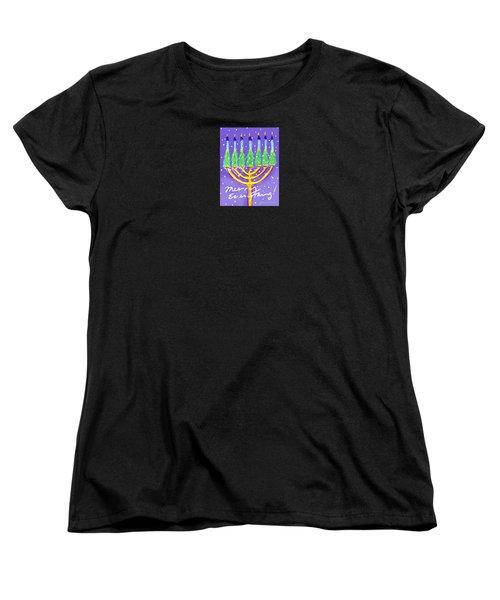 Merry Everything Women's T-Shirt (Standard Cut) by Jean Pacheco Ravinski