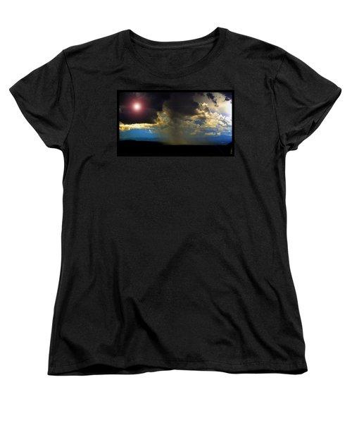 Mesa Thunderstorm Vistas Women's T-Shirt (Standard Cut) by Susanne Still