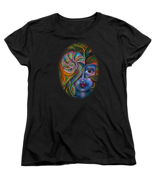Mesmerize Women's T-Shirt (Standard Cut) by Deborha Kerr
