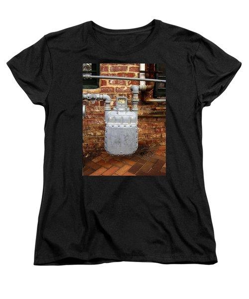 Meter II In Athens Ga Women's T-Shirt (Standard Cut) by Flavia Westerwelle