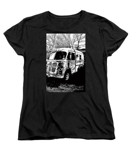 Metro Van Side Women's T-Shirt (Standard Cut) by Renie Rutten