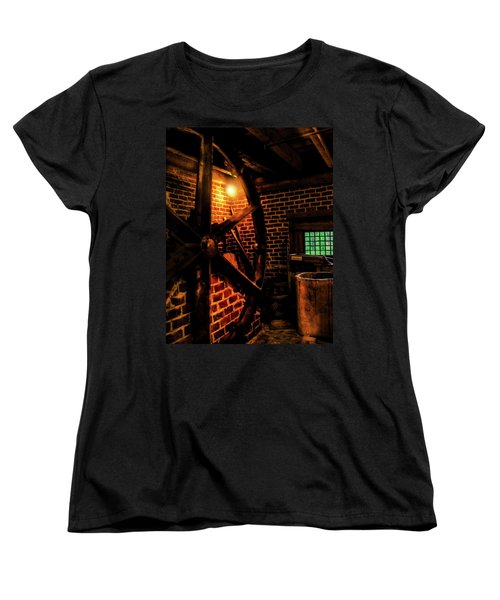Women's T-Shirt (Standard Cut) featuring the photograph Michie Tavern No. 4 by Laura DAddona