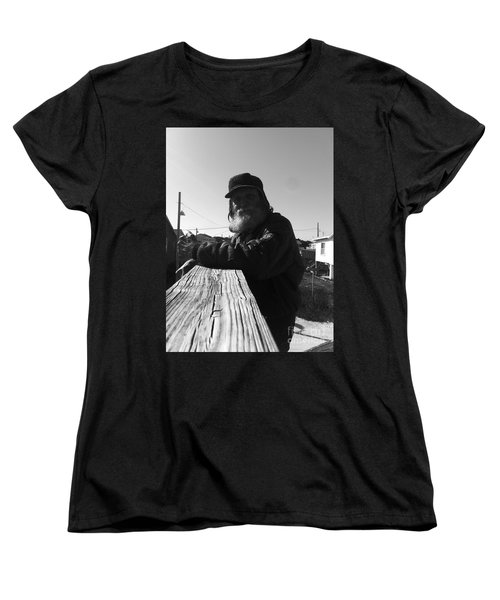 Mick Lives Across The Street Not In The Streets Women's T-Shirt (Standard Cut)