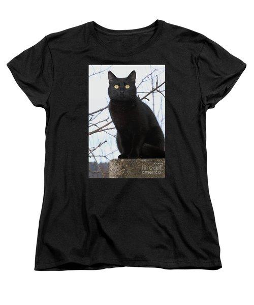 Women's T-Shirt (Standard Cut) featuring the photograph Midi 2 by Wilhelm Hufnagl