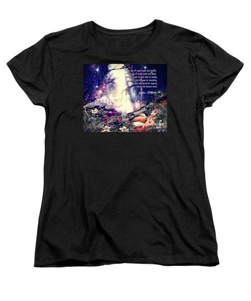 Midsummer Night Dream Women's T-Shirt (Standard Cut) by Mo T
