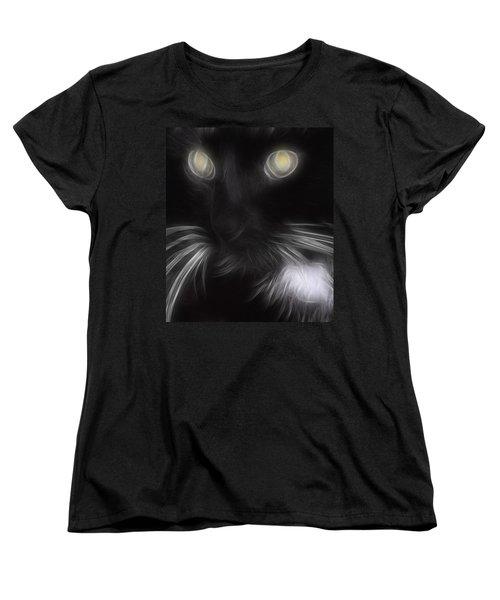 Women's T-Shirt (Standard Cut) featuring the digital art Mikey by Holly Ethan