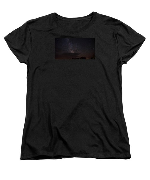 Women's T-Shirt (Standard Cut) featuring the photograph Milky Way by Gary Wightman