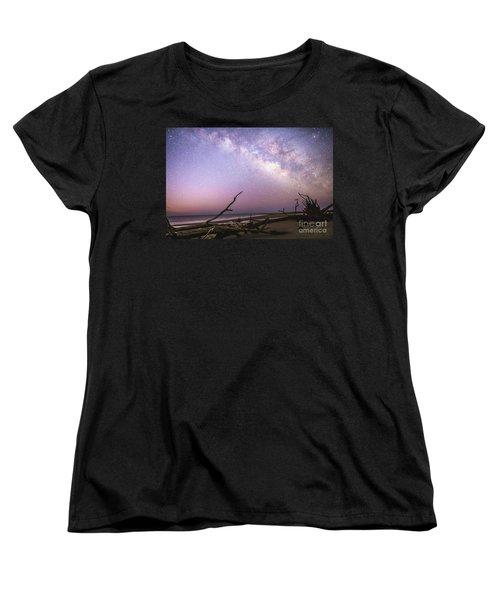 Milky Way Roots Women's T-Shirt (Standard Cut) by Robert Loe