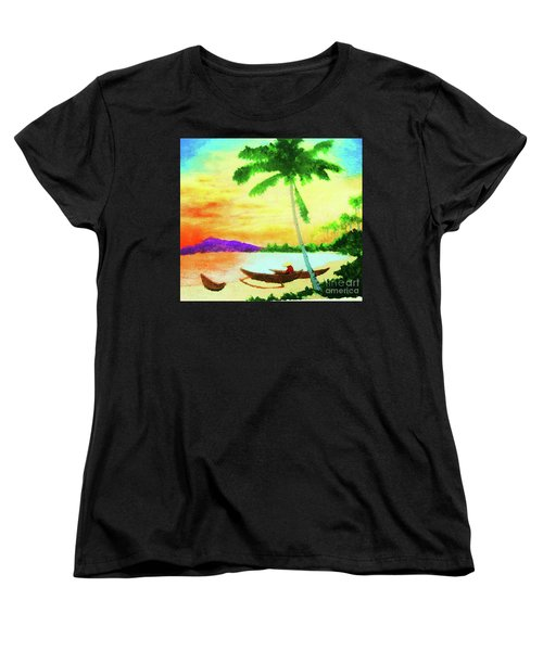 Mindanao Sunset Women's T-Shirt (Standard Cut) by Roberto Prusso