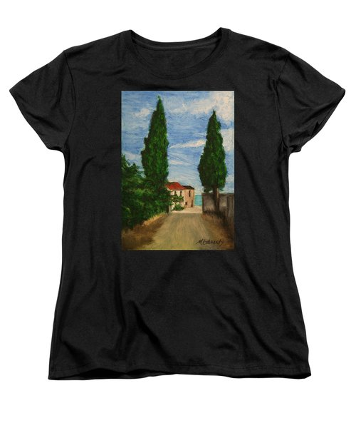 Mini Painting, Portugal Women's T-Shirt (Standard Cut) by Marna Edwards Flavell