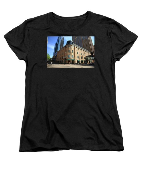 Women's T-Shirt (Standard Cut) featuring the photograph Minneapolis Downtown by Frank Romeo