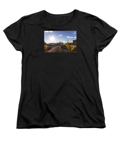 Minneapolis In The Fall Women's T-Shirt (Standard Cut) by Zach Sumners