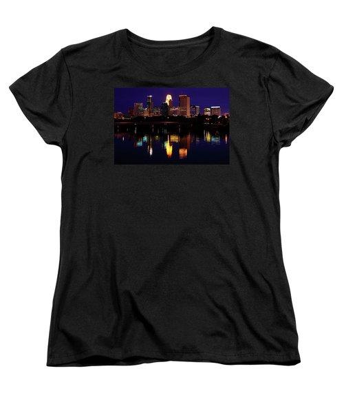 Minneapolis Twilight Women's T-Shirt (Standard Cut)