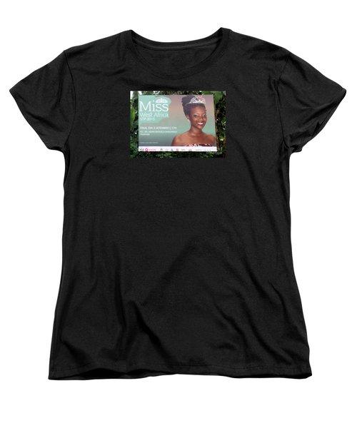 Miss West Africa Women's T-Shirt (Standard Cut) by John Potts