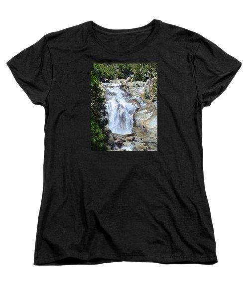 Mist Falls Women's T-Shirt (Standard Cut) by Amelia Racca
