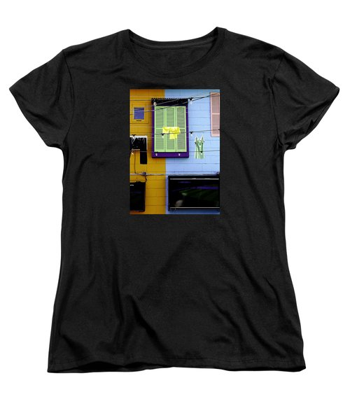 Women's T-Shirt (Standard Cut) featuring the photograph Mke Brz by Michael Nowotny