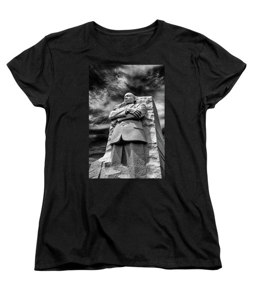 Mlk Memorial Women's T-Shirt (Standard Cut) by Paul Seymour