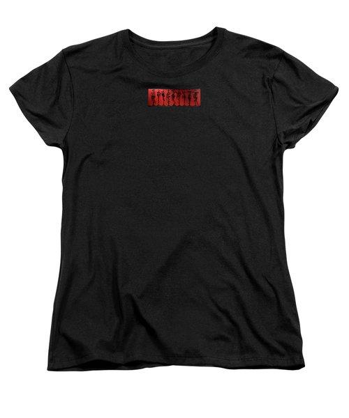 Model Society Women's T-Shirt (Standard Cut) by James Lanigan Thompson MFA