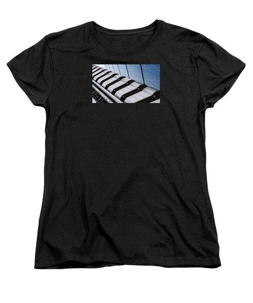 Lloyds Building Bank In London Women's T-Shirt (Standard Cut) by John Williams