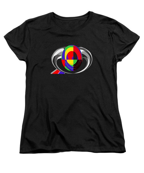 Modern Egg Women's T-Shirt (Standard Cut) by Methune Hively