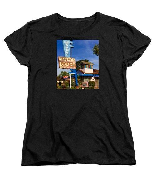 Modern In Lodi Women's T-Shirt (Standard Cut) by Suzanne Lorenz