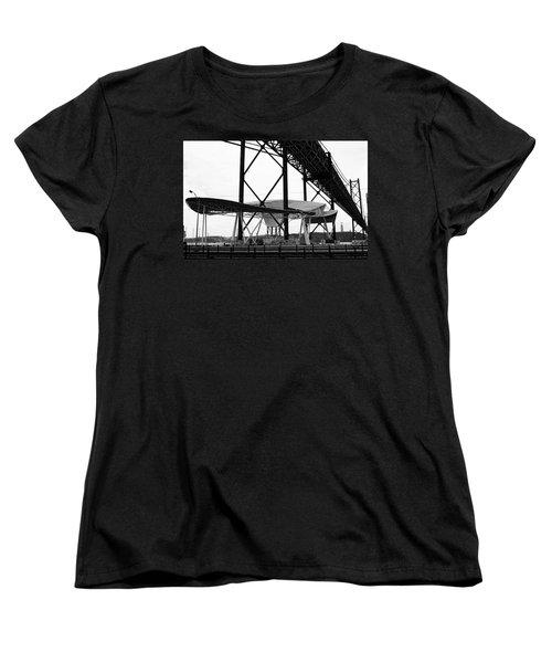 Modern Mass Transit Women's T-Shirt (Standard Cut) by Lorraine Devon Wilke