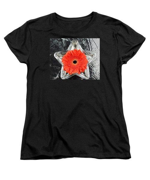 Moment  Women's T-Shirt (Standard Cut) by Ray Shrewsberry