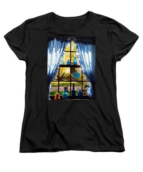 Mom's Kitchen Window Women's T-Shirt (Standard Cut) by John Scates