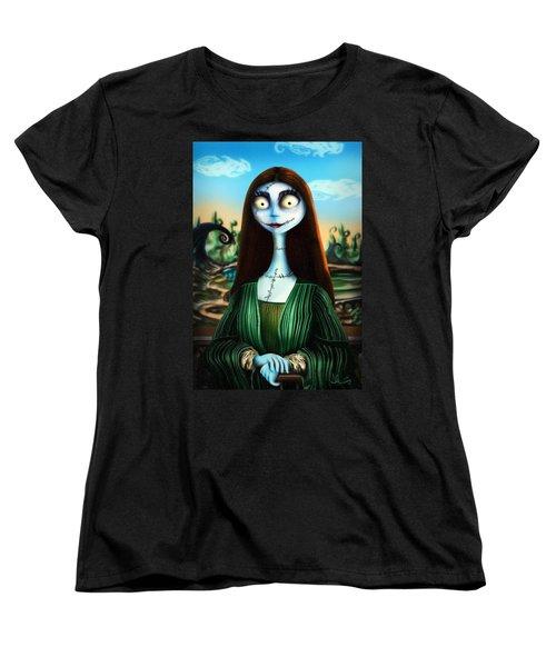 Mona Lisa Women's T-Shirt (Standard Cut)