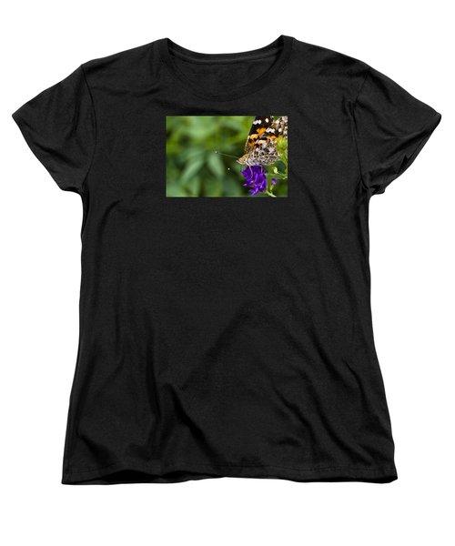 Monarch Butterfly Women's T-Shirt (Standard Cut) by Marlo Horne